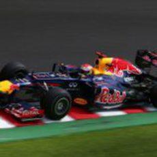 Sebastian Vettel lideró los últimos entrenamientos de Japón