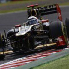 Kimi Räikkönen prueba los blandos en los Libres 3