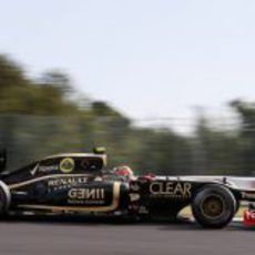 Romain Grosjean clasificó quinto en Japón