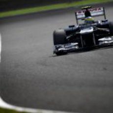 Bruno Senna completa la clasificación del GP de Japón