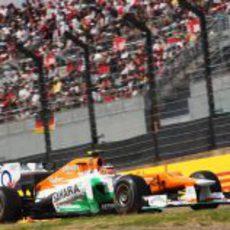Nico Hülkenberg clasificó décimo en Japón