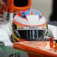 Paul di Resta rueda a los mandos del VJM05 en Suzuka