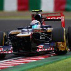 Jean-Eric Vergne pilota para Toro Rosso en Suzuka