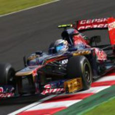 Jean-Eric Vergne pasó a la Q2 en Suzuka