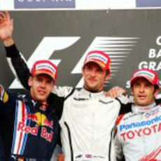 Los 3 primeros de Bahréin