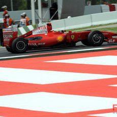Felipe Massa clasificando
