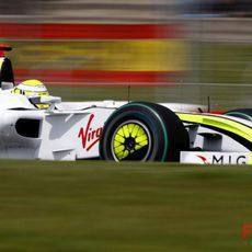Jenson Button clasificando
