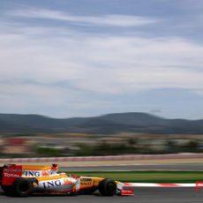 Alonso en Montmeló