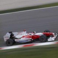 Jarno Trulli en clasificación
