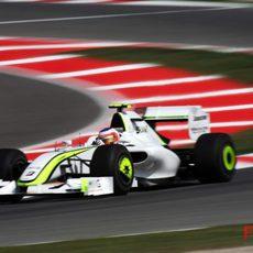 Rubens Barrichello en Montmeló