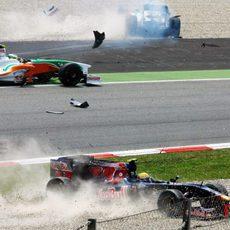 Gran Premio de España 2009: Carrera