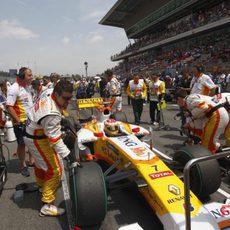 Alonso, preparado para el GP de España 2009