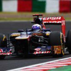 Daniel Ricciardo clasificó decimosexto en Suzuka