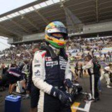 Bruno Senna, listo para la salida