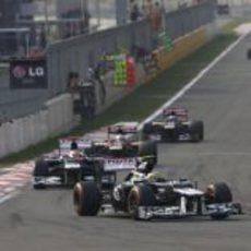 Los Williams ruedan por delante de Toro Rosso