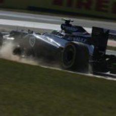 Bruno Senna saca el máximo del FW34
