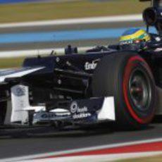 Bruno Senna prueba los superblandos
