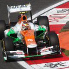Jules Bianchi vuelve a rodar para Force India