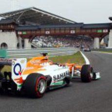 Paul di Resta no entró en la Q3