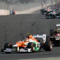 Nico Hülkenberg fue sexto en el Gran Premio de Corea