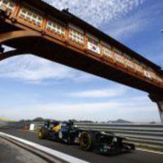 Giedo Van der Garde pilotó con Caterham en los libres del viernes