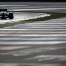 Un Caterham rodando en el circuito de Yeongam