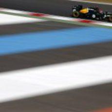 Heikki Kovalainen en los segundos libres de Corea