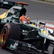 Heikki Kovalainen clasifica con los superblandos durante la Q1
