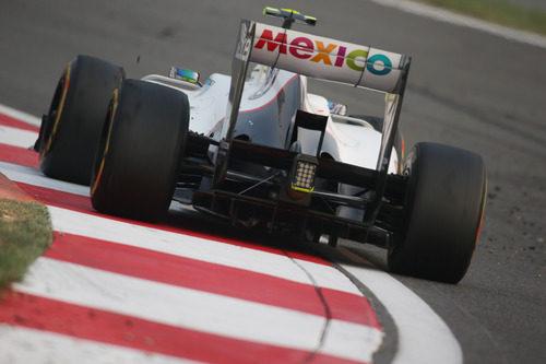 México, presente en el Sauber C31