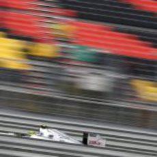 Nico Rosberg en clasificación