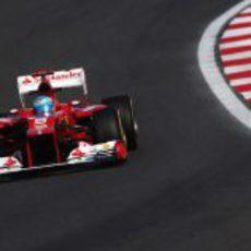 Alonso rueda en los libres del GP de Corea 2012