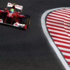Massa rueda en los libres del GP de Corea 2012