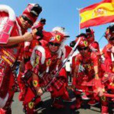 Samurais de Ferrari en Suzuka