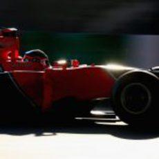 Timo Glock en el GP de Japón 2012