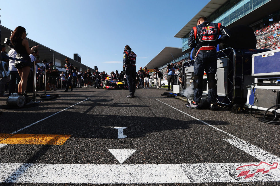 'Pole position' del GP de Japón 2012