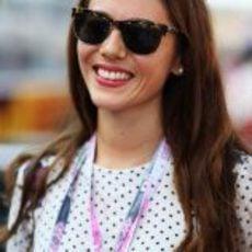 Jessica Michibata en el GP de Japón 2012
