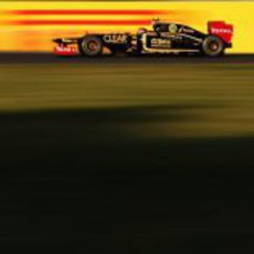Romain Grosjean en el GP de Japón 2012