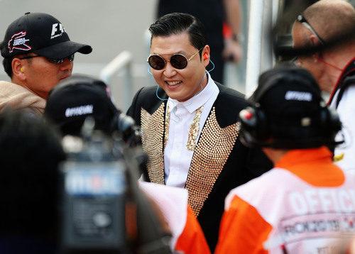 PSY en el GP de Corea 2012