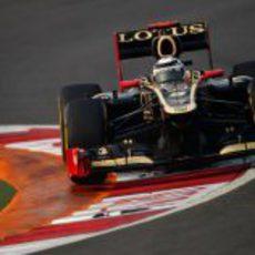 Kimi Räikkönen rueda en los libres de Buddh
