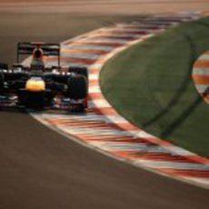 Sebastian Vettel, el más rápido en la jornada del viernes en India