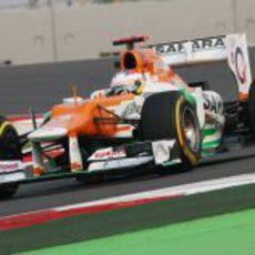Paul di Resta rueda en el Buddh International Circuit