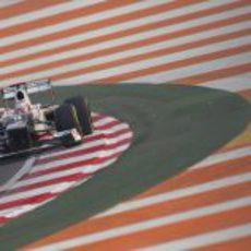 Kamui Kobayashi exprime el C31 en India