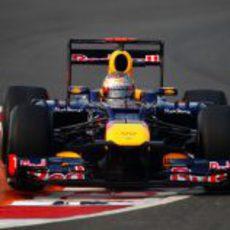 DRS a fondo para Sebastian Vettel