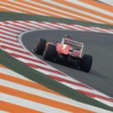 Felipe Massa tuvo unos Libres 2 algo desafortunados