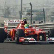 Felipe Massa rueda en el Buddh International Circuit