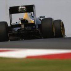 Vitaly Petrov y Caterham en el Gran Premio de India