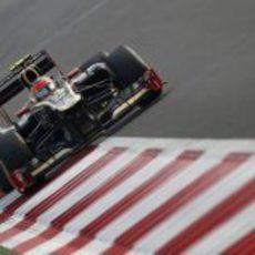 Romain Grosjean, undécimo en India