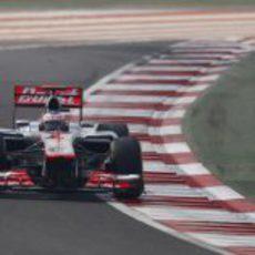Jenson Button saldrá cuarto en India