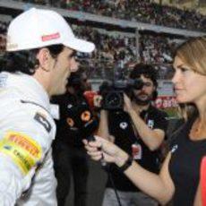 Nira Juanco entrevista a Pedro de la Rosa