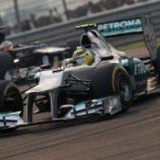 Nico Rosberg luchó con los Williams por entrar en los puntos